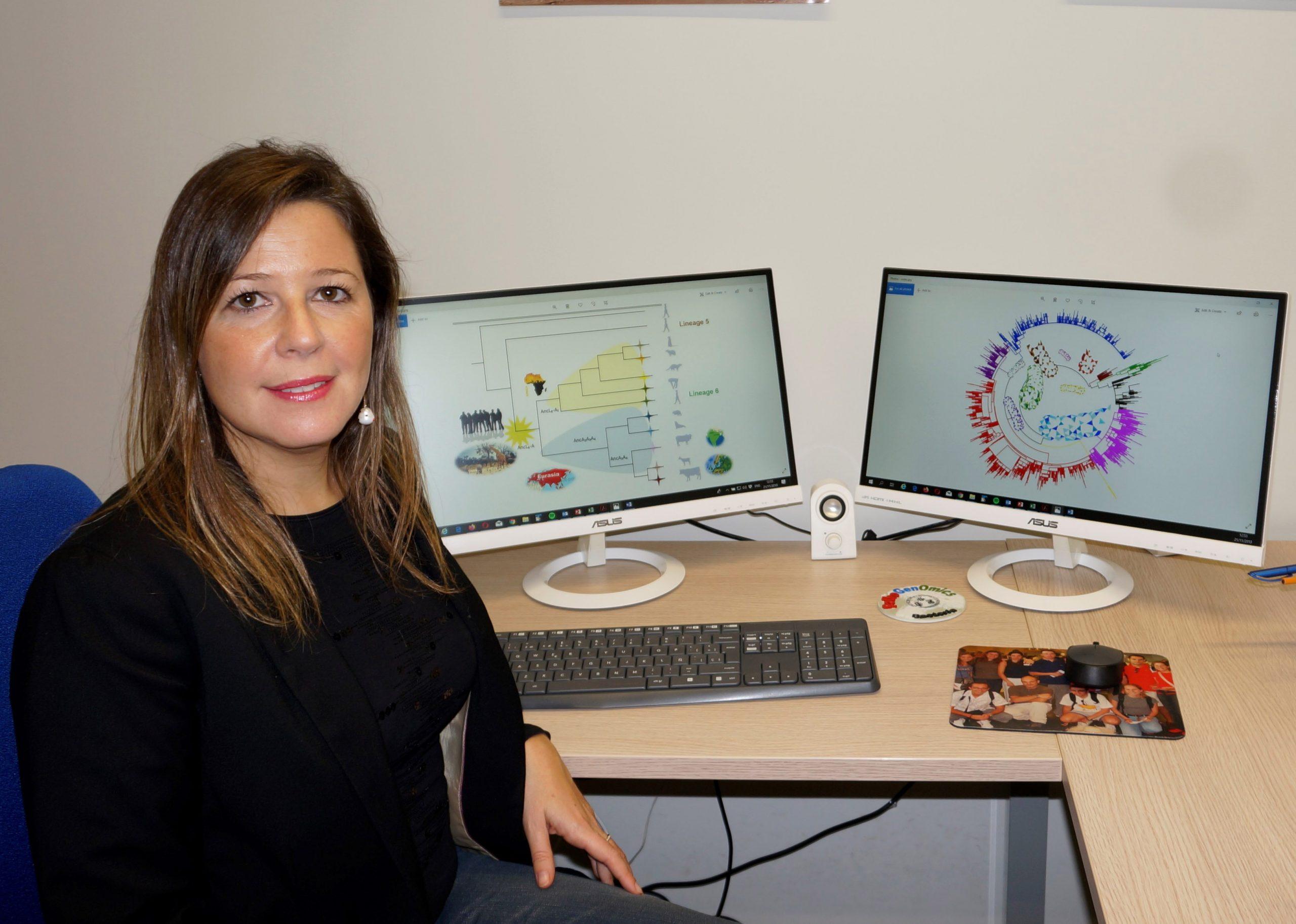Mireia Coscollá, investigadora del I2SysBio