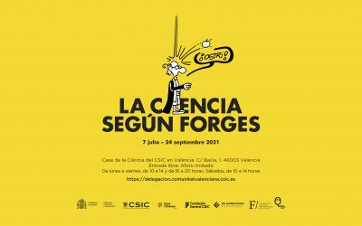 La Casa de la Ciència del CSIC en València acoge la exposición 'La ciencia según Forges'