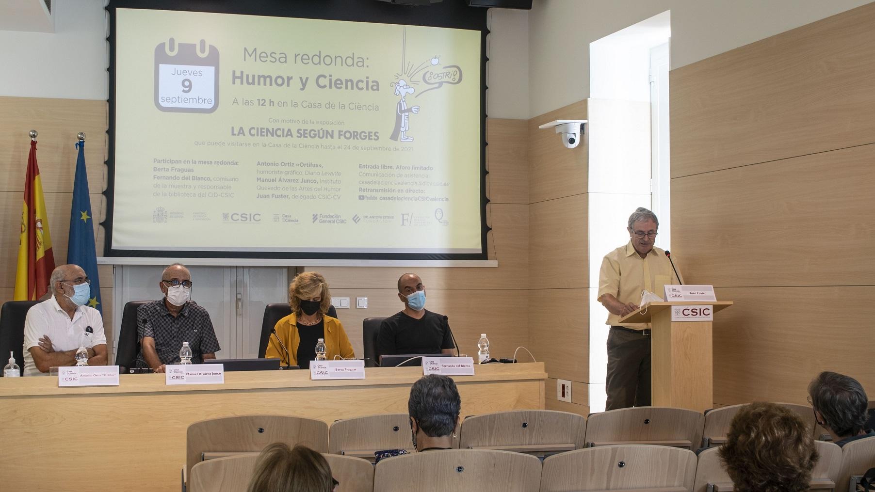 Germán Rodrigo, investigador del IFIC (CSIC-UV)