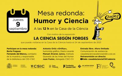 Mesa redonda: «Humor y Ciencia»