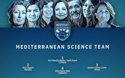 MEDNIGHT presenta a las investigadoras e investigadores que integran la primera Selección Mediterránea de la Ciencia